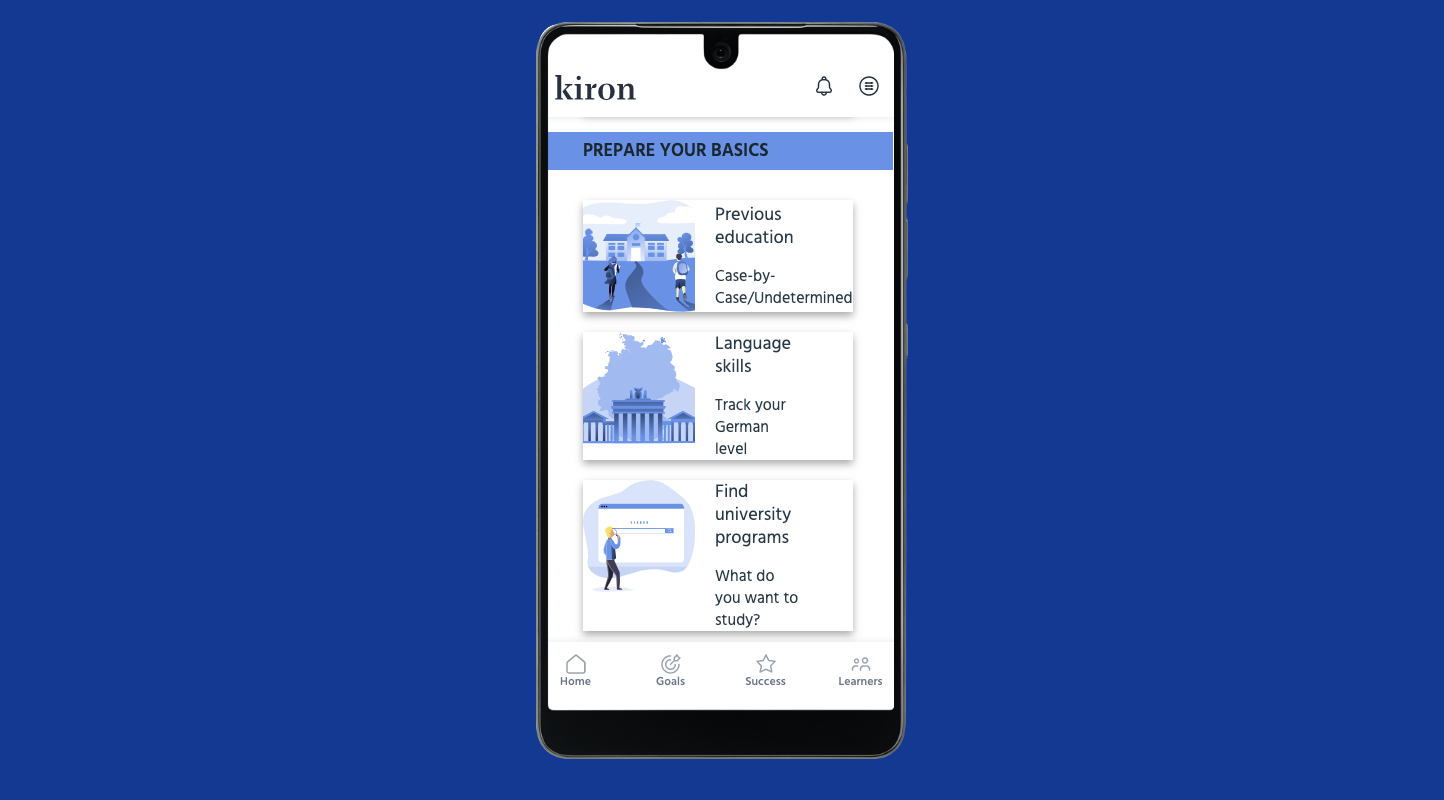 Kiron Home Page