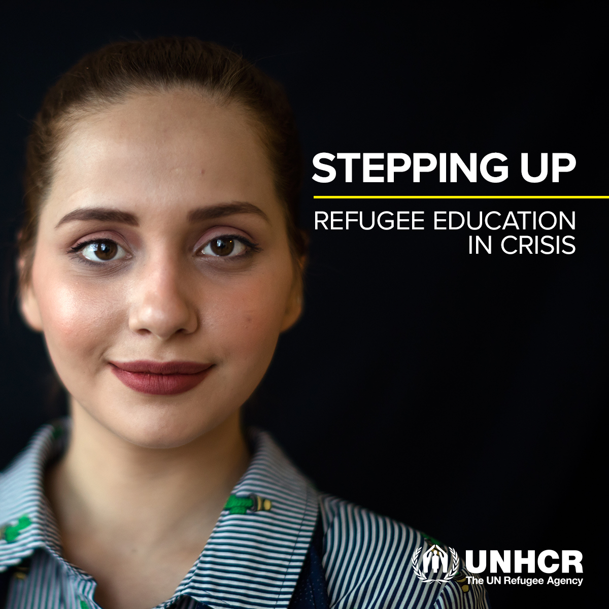STEPPING UP | Refugee Education in Crisis